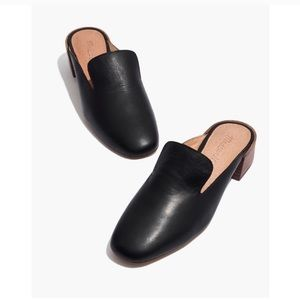 Madewell Willa Loafer Black Mule Clogs 6